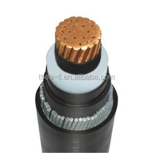 single core copper conductor XLPE insulation underground Steel Wire Armoured Power Cable