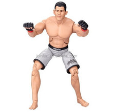 Muscle man movable action figure maker,make your own pvc action figure collection,Custom plastic pvc action figure manufacture