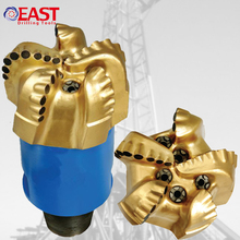 API 6 1/2 inch Matrix Body PDC Bits Rock Bit for Water Well Drilling