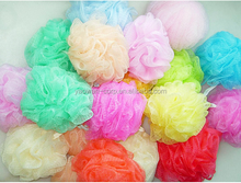 Flower Bath/Shower Body Exfoliate Puff Sponge Mesh Net Ball
