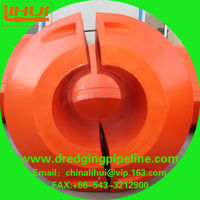 Long using life marine dredging pipe floats supplier in China