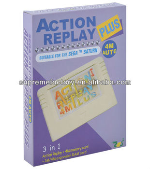EMS Action Replay Plus 4M for SEGA Saturn