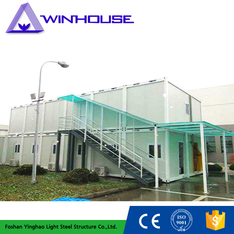 Steel Structure Flat Packed Container Energy Saving Mobile Home Thailand