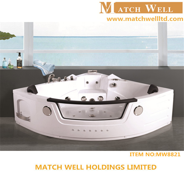 New style freestanding massage bathtub jakuzzy bathtub outdoor