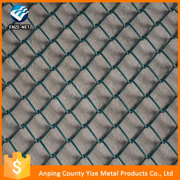 New design plain chain link fence for baseball ground with low price