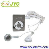Hot selling digital mp3 player,Clip mirror mp3