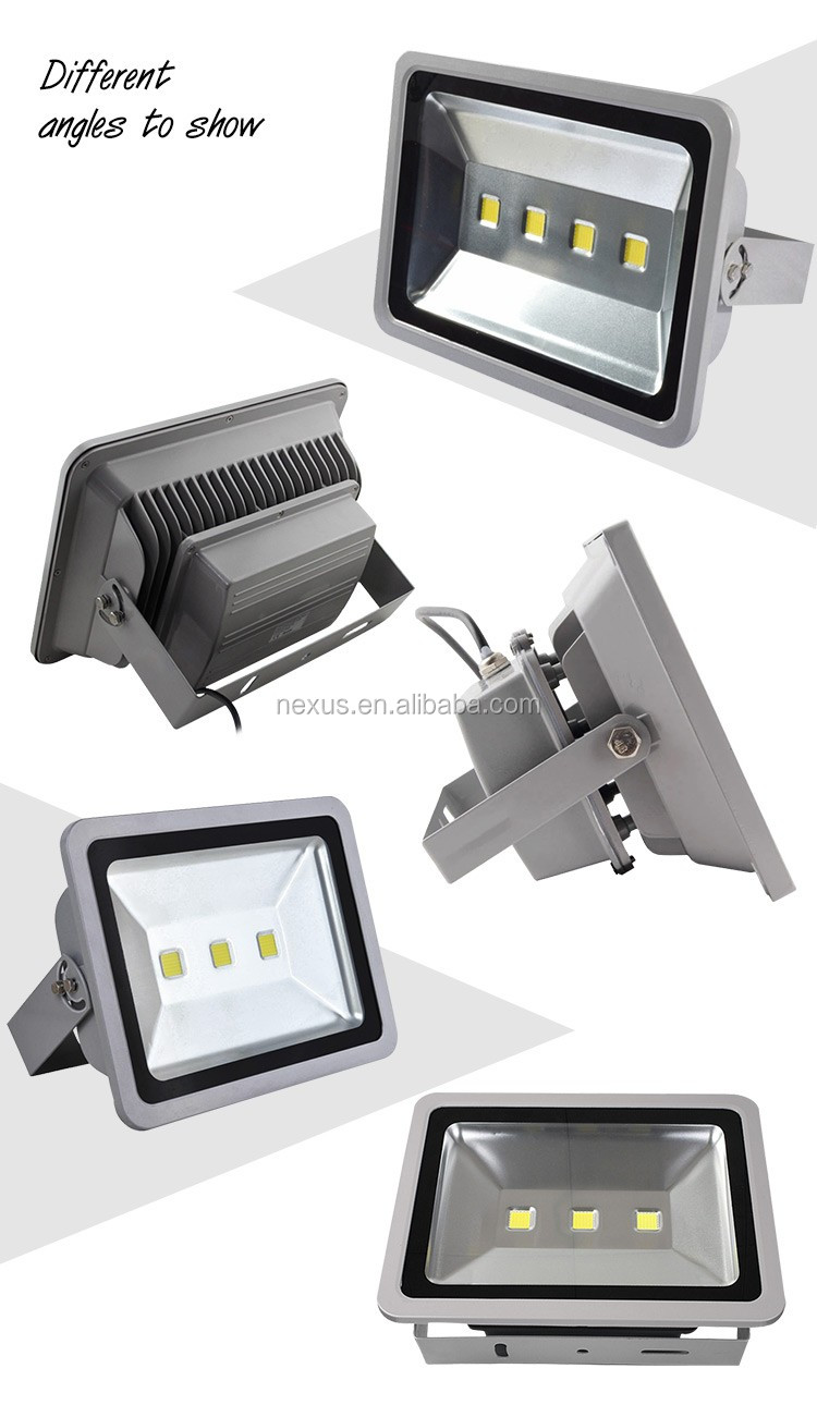 High Power Outdoor Waterproof IP65 240w LED Flood Light Fixture