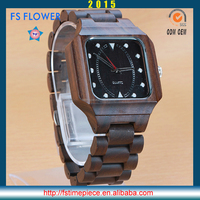FS FLOWER - Personalized Custom All Wooden Material Watch Global Wholesale At Cheap Price Let's Have a Detail Talk