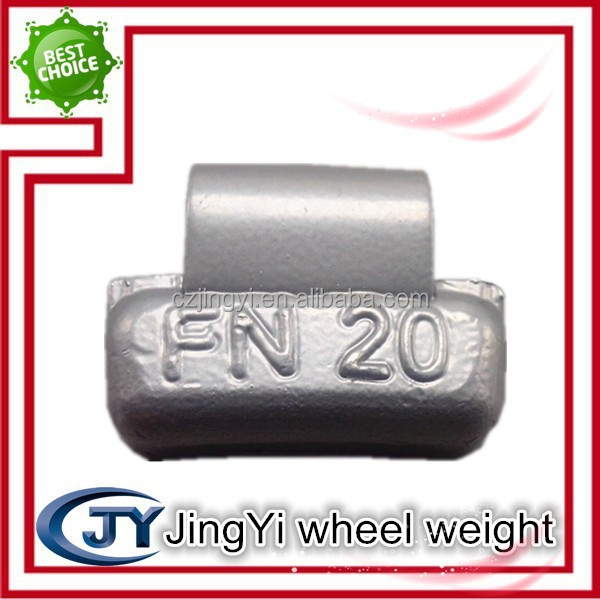 lead wheel weight with spoke alloy rims