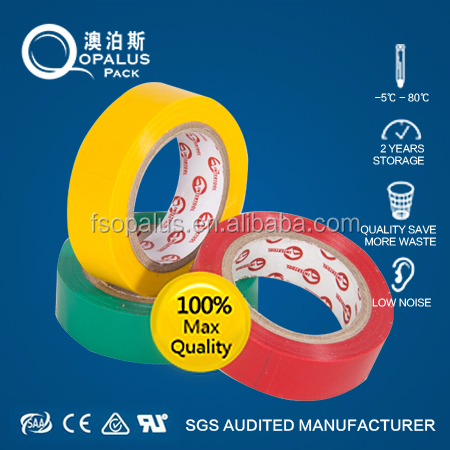 Flame Retardant Wholesale PVC insulating tape embossing