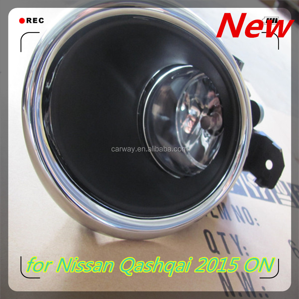 Spare parts accessories for Nissan Qashqai 2015 ON New light