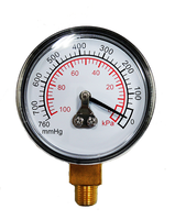 Taiwan Brass Diaphragm Pressure Gauge for Air Filter