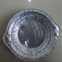 fast food for noodle round aluminum foil takeaway containers