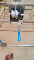 Material Handling Equipment/worm gear lift table/hand worm winch Vertical Lift System