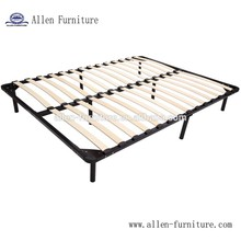 Factory supply easy assembly strengthen wood slat bed