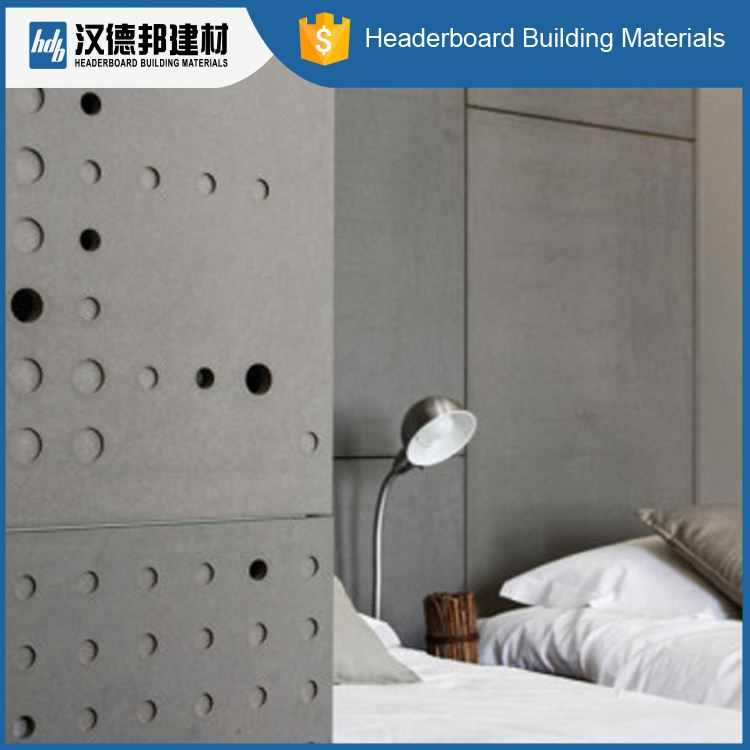 Factory sale OEM quality moistureproof fiber cement decorative wall board for sale