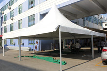 windproof used aluminium marquee white pagoda tents for sale