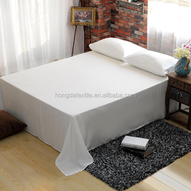 Wholesale Nature bamboo fabric bed sheets sets, wedding bedding set
