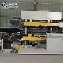 Double Wall Plastic Corrugated Pipe Machinery Production Line