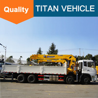 Mobile Truck Mounted Crane Truck Trailer with Lift