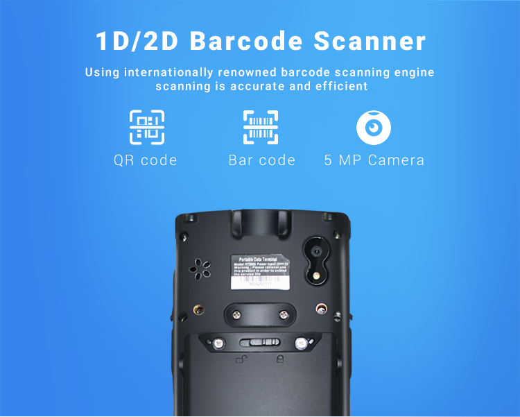 1d 2d barcodes scannen für windows handheld pda