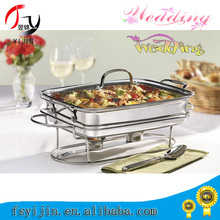 outdoor wedding rental stainless steel butter dish