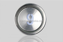 Bright color elevator push button for lift spare parts with good touch sense