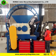 High quality ideal waste tire /used rubber shredder with CE