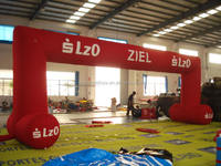 inflatable arch for sports, events, wedding,can be customized,high quality PVC sewed inflatable finish line arch gate
