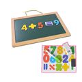 Double usage whiteboard erasable wall hanging magnetic board
