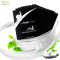 The tree flower hydrogel smoothing natural snail silk facial mask