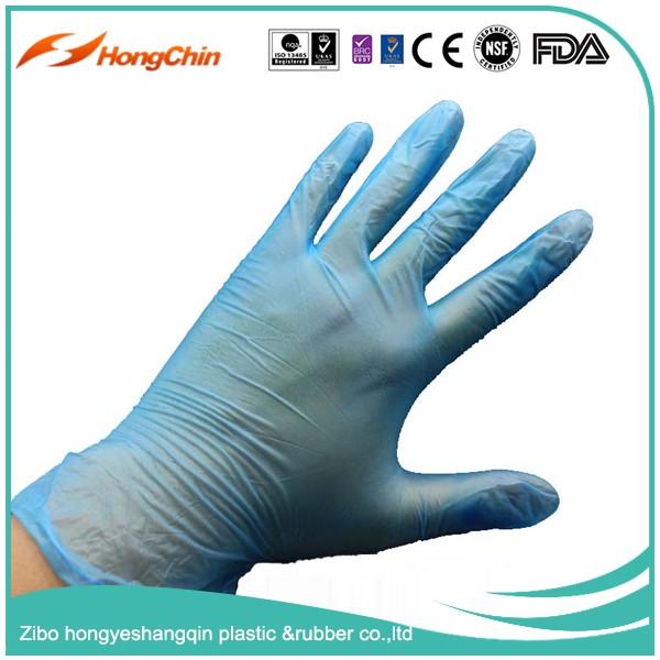 Medical Exam Use Disposable Powder Free Vinyl Gloves Non