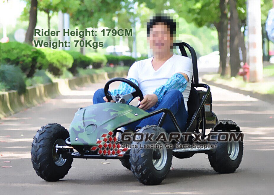 800w electric atv buggy with 48v 20Ah battery single seat