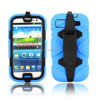 Rugged surviv waterproof case for Samsung Galaxy S3 stand cover