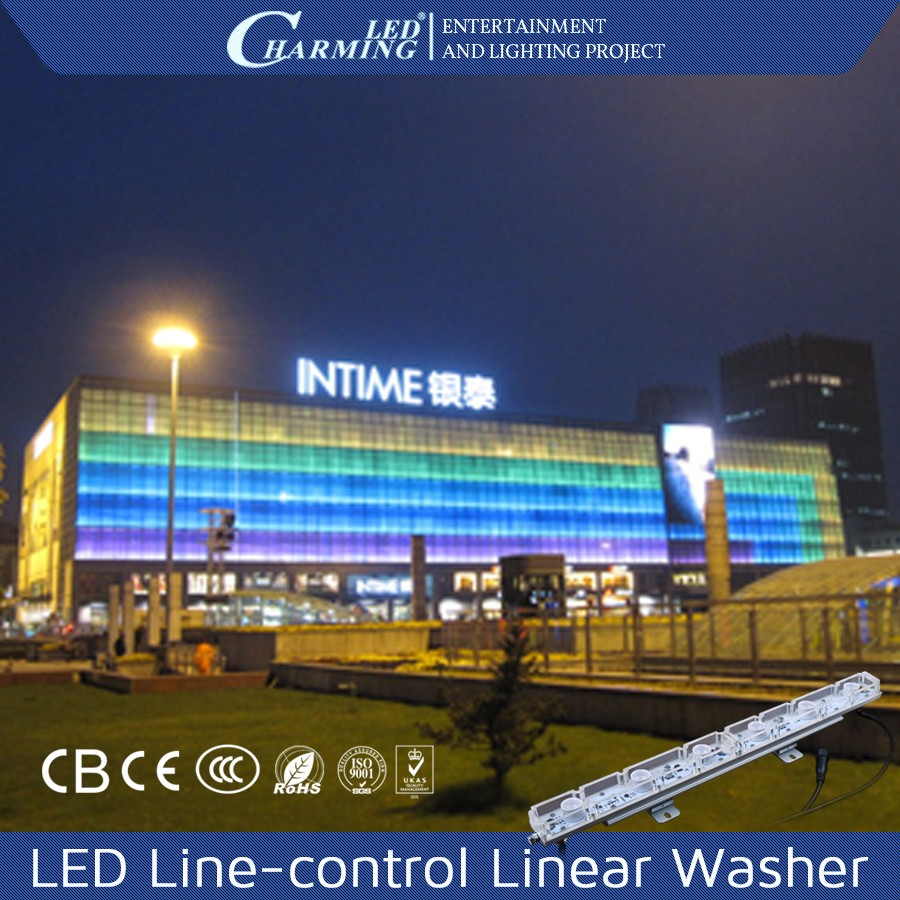 matrix control replacement digital rgb linear led wall washer light / color changing led christmas wall washer lights