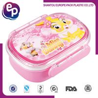 China supplier high quality big lunch box keep food cold or hot , plastic lunch box , lunch box