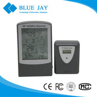 DTH-83 Indoor/Outdoor Wireless Weather Station Hygrometer Thermometer, LCD Display Hygro-thermometer