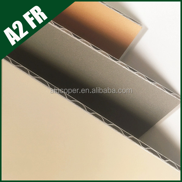 Fireproof and waterproof aluminum composite panel wall cladding