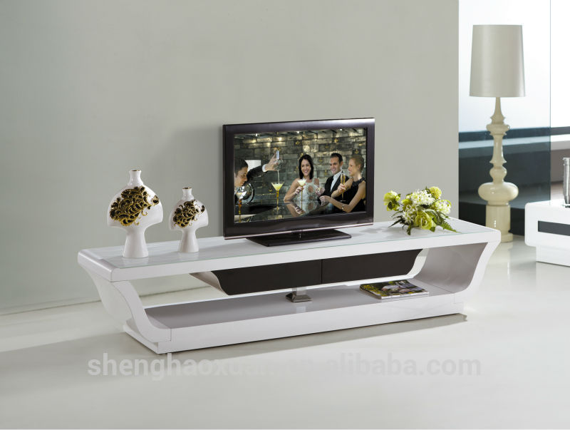 Latest design wooden tv furniture wooden plasma tv stand for Table tv design