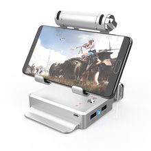 GameSir X1 Battledock converter portable Mobile <strong>phone</strong> <strong>holder</strong> for FPS games with keyboard and mouse