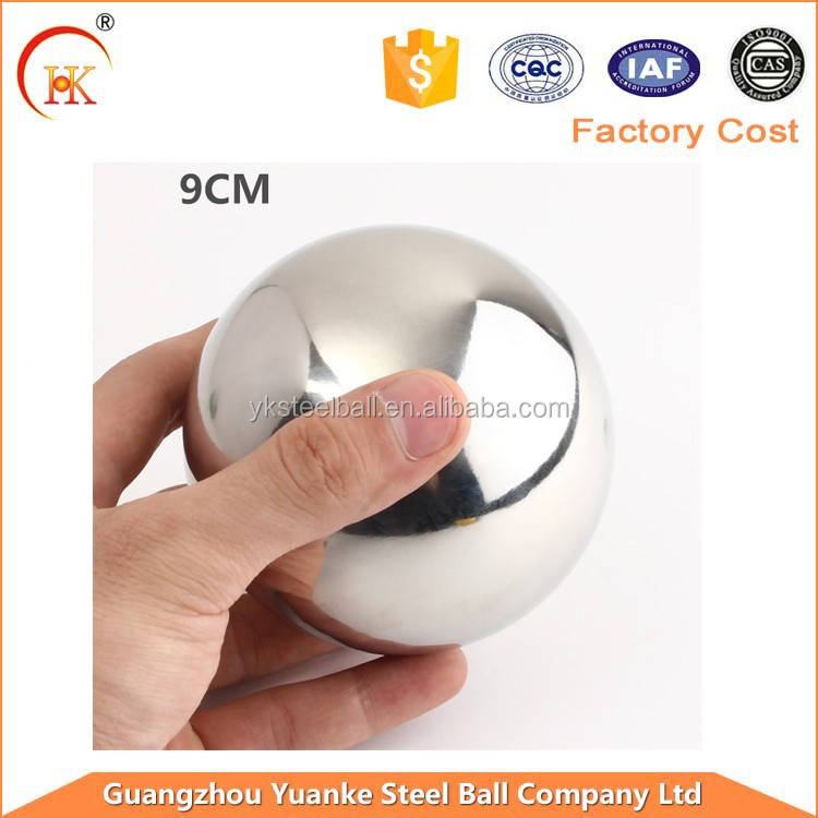 304 316 wholesale high polished hollow stainless steel metal half ball