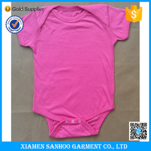 Wholesale Blank Baby Romper Cotton Soft Baby Clothes