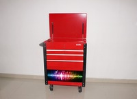 2015 Newest steel draw tool chest and tool cabinet Trolley with 200W bluetooth speaker