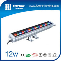 Outdoor strip light ip65 CE 60cm RGB color changing , 12W led wall washer