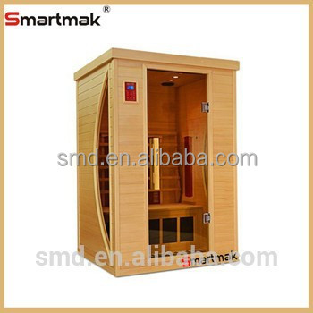 2015 year Infrared Wood Ozone Sauna rooms for warm winter