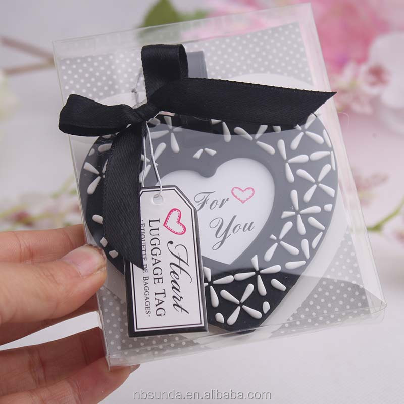 Wedding Favor Tags Bulk : Wholesale Factory wholesale good quality pvc luggage tag wedding favor ...
