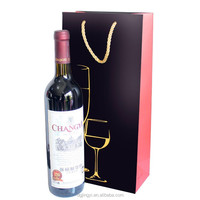 EECA Top Customized Printed Wine Bottle Paper Bag