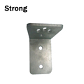 Manufacture custom aluminum stamping wall mounting bracket