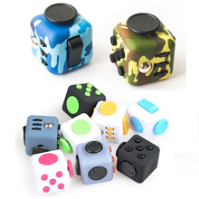 Hot!Magic Fidget Cube Anti-anxiety Decompression Toy Adults Stress Relief Kids Toy Gift 13 Colors