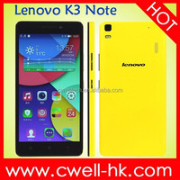Original Lenovo K3 Note 4g Smartphone 5.5 inch MTK6752 1.7ghz Octa Core Android 5.0 Ram 2GB Rom 16GB Lenovo Phone